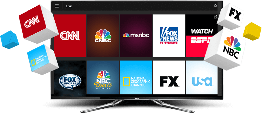 The biggest international IPTV service provider for channels, VOD and films on the market.